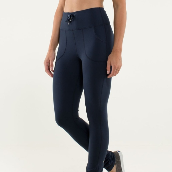 4521b9f31dac0 lululemon athletica Pants - LULULEMON Skinny Will Pant High Rise Fold Over 6